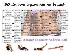 30 dniowe wyzwanie na brzuch