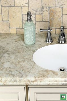 ... Menards® Has The Right Countertop For You! Available In Over 165 Colors  With 10 Distinctive Edge Style Options, CustomCraft™ Laminate Can Greatly  ...