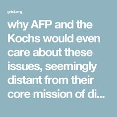 why AFP and the Kochs would even care about these issues, seemingly distant from their core mission of disassembling the federal government. But it actually makes perfect sense that they would hate cities, and downtown revitalization, and want to see cities die. Functioning cities — like everything else the Kochs oppose, such as environmental protection and social justice — require functioning governments. If your goal is to undermine government and collective action for the public good…