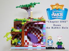 """Alice in Wonderland (Chapter One – Down the Rabbit Hole) This LEGO set proposal is based on famous fairy tales """"Alice in Wonderland"""". Background : Chapter One – Down the Rabbi..."""