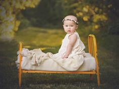 So classic! Bassinet, What To Wear, White Dress, Classic, Baby, Dresses, Decor, Derby, Vestidos