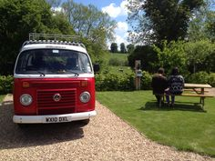 VW on romantic pitch @ Stonehenge Campsite overlooking water meadows   From £15-£25/night www.stonehengecpsite.co.ul Stonehenge, Campsite, Pitch, Volkswagen, Camper, Inspire, Romantic, Night, Camping