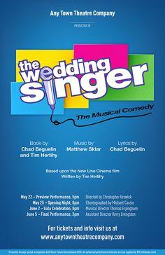 Subplot Studio Customizable Poster Design For The Wedding Singer