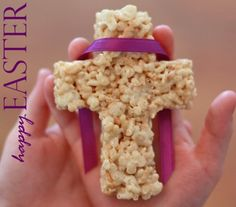 Easter cross rice krispies