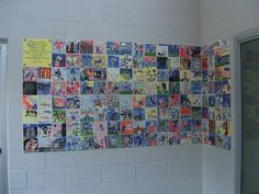 kids painted tile mural from ccsa studio share