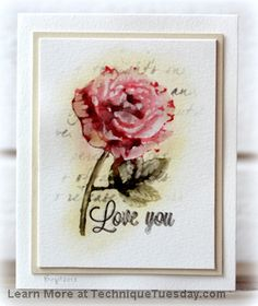done in 2013, so stamp may not be available anymore.  Red Rose Greenhouse Card
