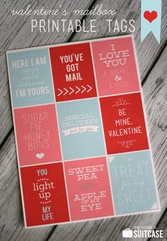 free printable valentine's_mailbox_tags from My Sister's Suitcase