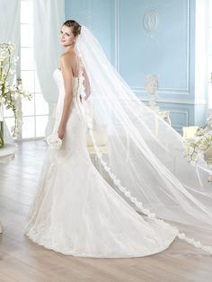 Vestido de novia, modelo Atenas de St. Patrick 2014   www.sanpatrickgranada.es