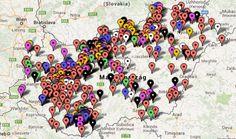 Túrautak, várak, látnivalók Magyarországon Bratislava