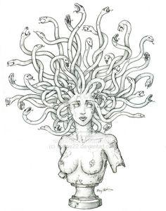 Medusa Tattoo by sonne22 on deviantART