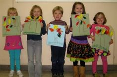 When It's Autumn Song by Miss Carole at PreK + K Sharing
