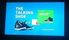 The Talking Shoe by Adidas (1)