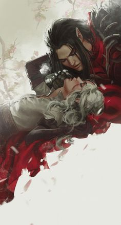 Witcher Art, The Witcher, Fantasy Inspiration, Character Design Inspiration, Enchanted Book, Elf Art, Anime Couples Manga, Anime Scenery, Portrait Art