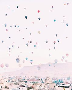 the prettiest hot air balloons