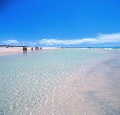 El perfume del mar en la infinidad de las aguas azules y cristalinas de #Fuerteventura