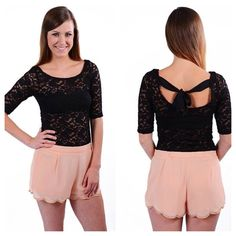 Check out our lacy Tracey top! On SALE now for only $9.99!!