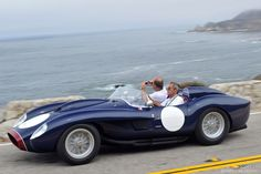 1956 Maserati 300S Fantuzzi Spider in the Pebble Beach Tour d'Elegance 2014...I love this one!