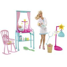 """Barbie I Can Be Doll Playset - Newborn Baby Doctor - Mattel - Toys """"R"""" Us"""