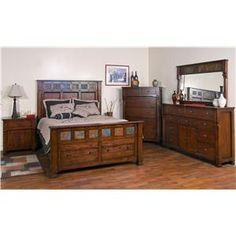 Santa Fe (dc) by Sunny Designs - Conlin's Furniture - Sunny Designs Santa Fe Dealer Montana