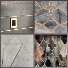 Design Trend: Gold Grout