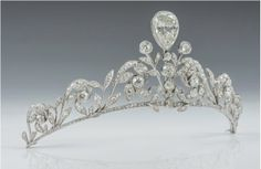 The Lannoy family tiara