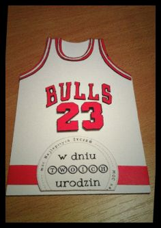 Michael Jordan birthday card basketball chicago bulls