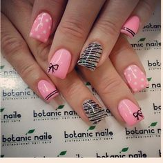 Do you know how to make perfect Bow nail art designs? Here are step by step easy Bow nail art 2017 tutorials. Learn how to make a perfect bow nail design. Fabulous Nails, Gorgeous Nails, Pretty Nails, Bow Nail Art, Cute Nail Art, Get Nails, Pink Nails, White Nails, Glitter Nails