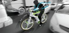 Air-purifying bicycle concept eats pollution, generates oxygen