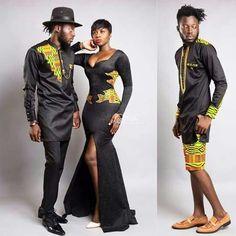 BigBrotherAfrica's Elikem Kumordzie The Tailor Releases The Kentelization… African Inspired Fashion, African Print Fashion, Africa Fashion, Fashion Prints, African Prints, African Attire, African Wear, African Women, African Dress
