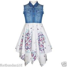 Dresses For Tweens, Kids Outfits Girls, Cute Girl Outfits, Girls Fashion Clothes, Summer Dresses For Women, Girls Dresses, Fashion Outfits, Beach Wear Dresses, Summer Dress Outfits