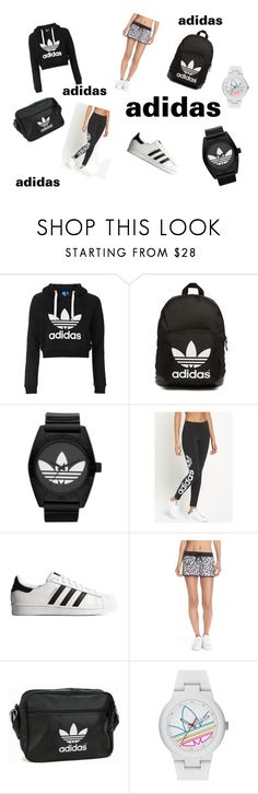 """Untitled #3"" by belma-salanovic ❤ liked on Polyvore featuring Topshop and adidas Originals"