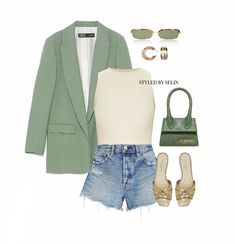 Cute Casual Outfits, Casual Chic, Fashionable Outfits, Denim Fashion, Fashion Outfits, Womens Fashion, Fasion, Spring Summer Fashion, Spring Outfits
