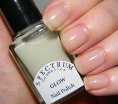 "Glow in the Dark Nail Polish ""GLOW"""