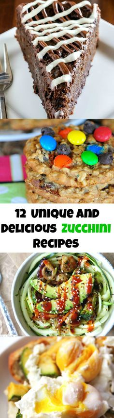 Unbelievably Delicious and Unique Zucchini Recipes You HAVE to Try!