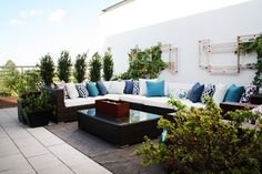 Leah & Matts Enviable Rooftop Oasis Outdoor Space Spotlight