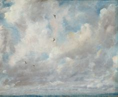 John Constable, Cloud Study (1821) have done a good deal of skying for I am determined to conquer all difficulties… -John Constable to Rev. John Fisher, 23 October 1821