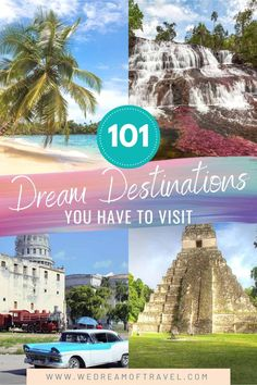 Looking for some travel inspiration? From iconic sights to hidden gems, discover the ultimate bucket list of dream destinations you need to visit at least once in your life! Dream Destinations | Dream Destinations Bucket List | Travel Bucket List | Travel Inspiration | Worldwide Travel | Bucket List Goals