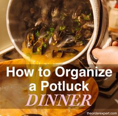 Need help organizing a potluck? You're in luck! These tips will help you organize a successful meal.