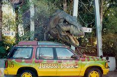 jurassic park section of universal studios, orlando, florida