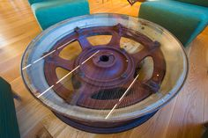 Epic Systems – Tractor Wheel Table