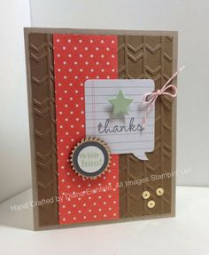 Stampin' Fun with Diana: Sketch Frenzy Friday Sketch Challenge: Hip Hip Horray Greetings