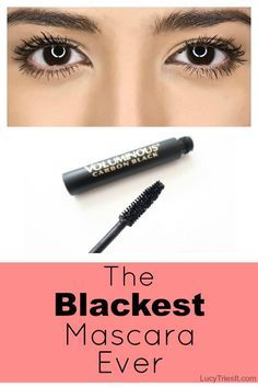 Do you feel like your mascara is missing something? That something is pigment. So what's the blackest mascara out there? Hint - it's from the drugstore! - April 28 2019 at Mascara Tips, How To Apply Mascara, High End Makeup Brands, Beauty Hacks For Teens, Make Up Dupes, Drugstore Makeup Dupes, Makeup Tutorial For Beginners, Makeup Tutorials, Eyelash Extensions