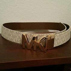 (New) Michael Kors Belt available. Authentic Mk belt gold hardware Michael Kors Accessories Belts