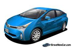 2016 Toyota Prius Hybrid rendering