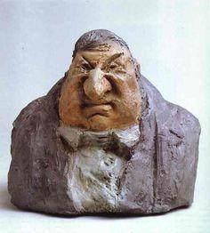 Image result for daumier sculpture