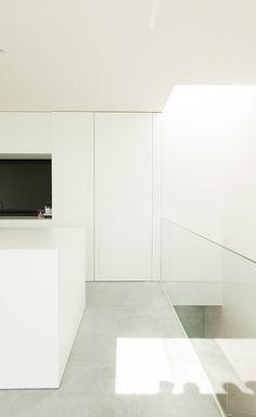 Interior of House DZ by Graux & Baeyens.