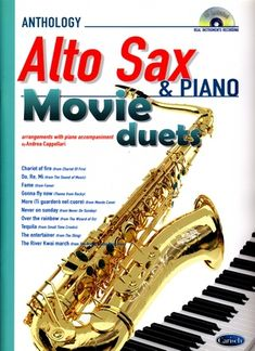 Songbook Andrea CAPELLARI Movie Duets For Alto Sax & Piano
