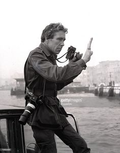 Venice, Italy, 14th October 1971, Photographer Lord Snowdon, husband of Princess Margaret, pictured at work in Venice (Photo by Popperfoto/Getty Images)
