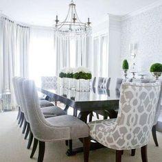 Comedor elegante moderno | Decoración de interiores!! | Pinterest ...
