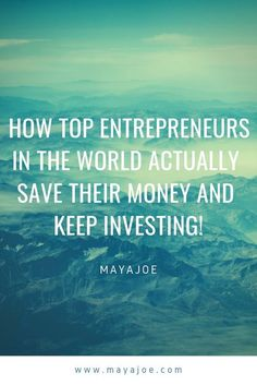 Check out this top entrepreneur s on how they make it! to save money how to invest money how to invest financial planning become a millionaire making Ways To Get Money, Money Now, Borrow Money, Lost Money, Investing Money, Saving Money, Making Money Quotes, Top Entrepreneurs, Dollar Money